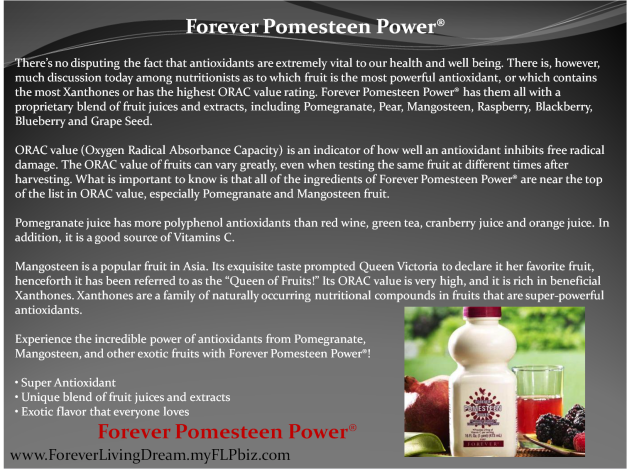 Forever Pomesteen Power®