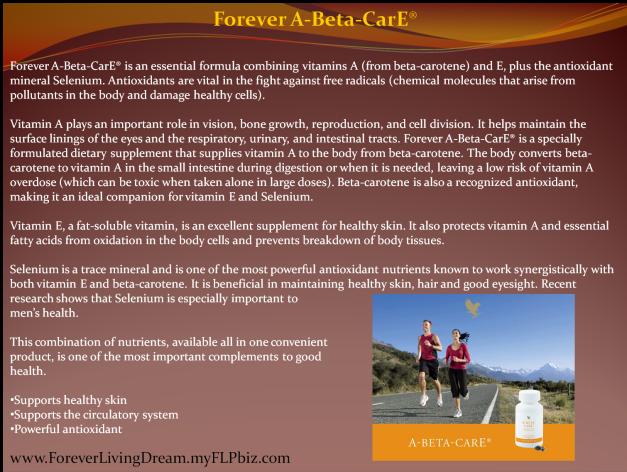 Forever A-Beta-CarE®