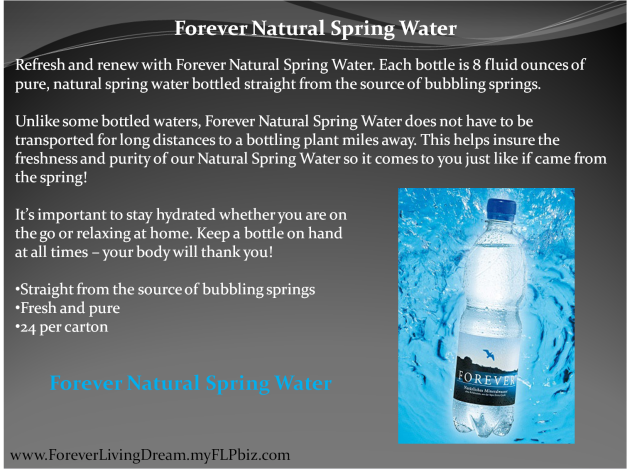 Forever Natural Spring Water