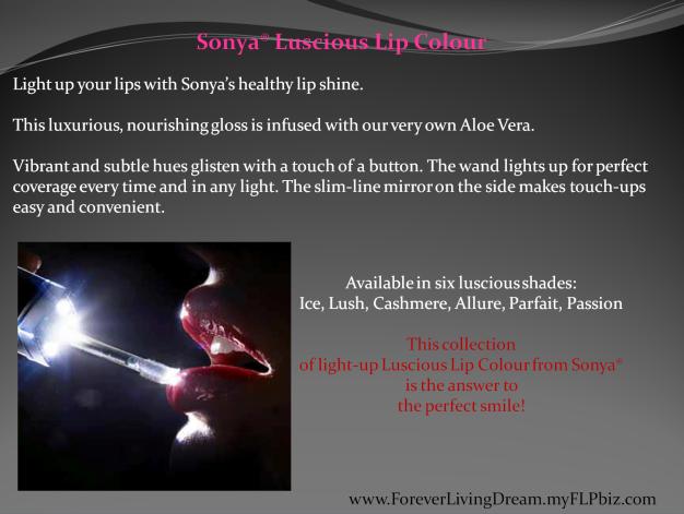 Sonya® Luscious Lip Colour