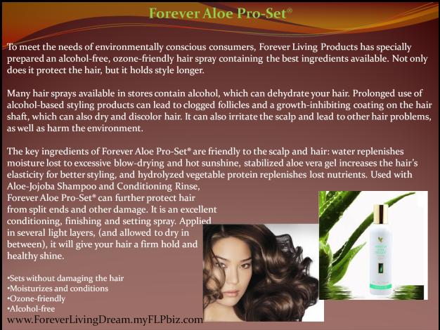 Forever Aloe Pro-Set®