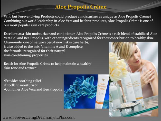 Aloe Propolis Crème