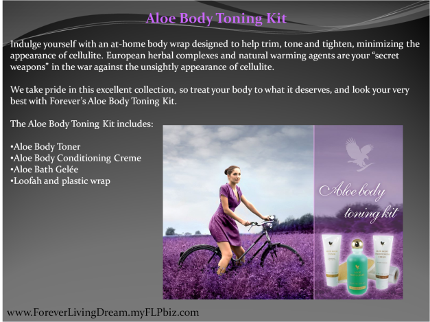 Aloe Body Toning Kit