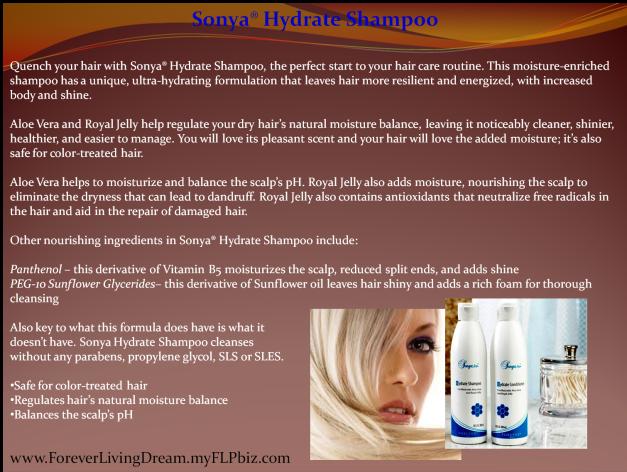 Sonya® Hydrate Shampoo