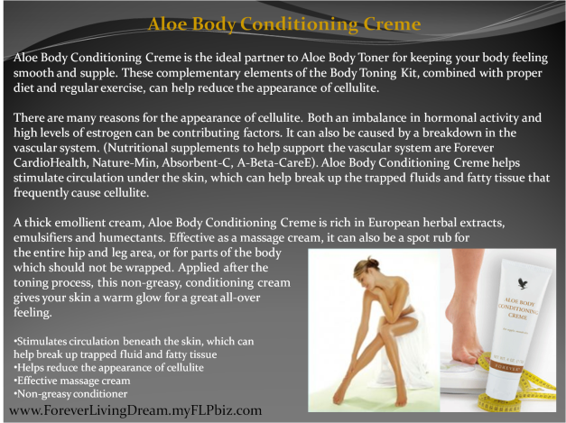 Aloe Body Conditioning Creme