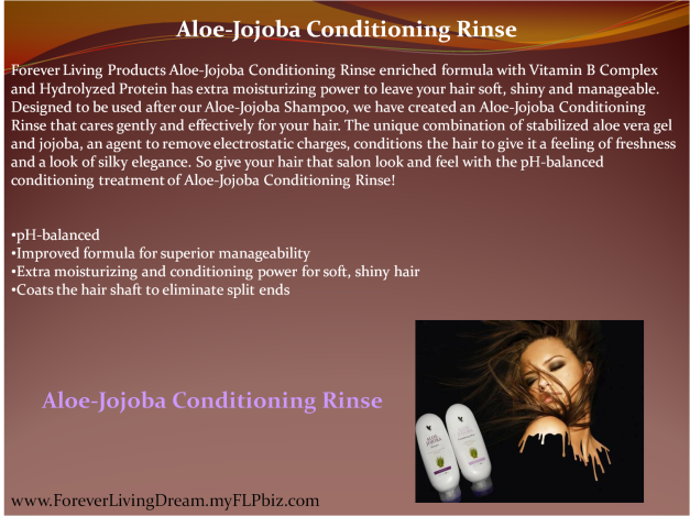 Aloe-Jojoba Conditioning Rinse