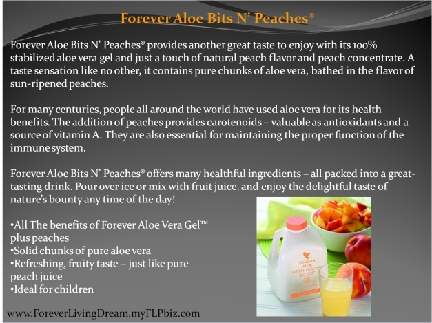 Forever Aloe Bits N' Peaches®