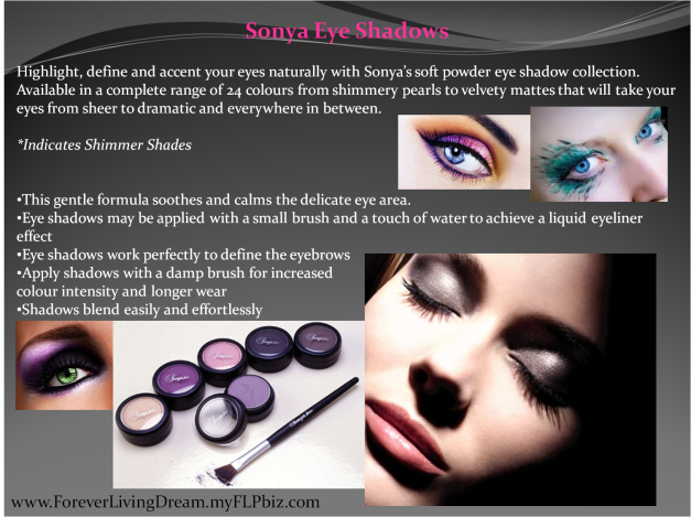 Sonya Eye Shadows