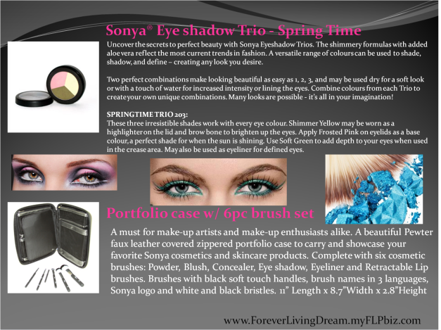 Sonya® Eye shadow Trio - Spring Time