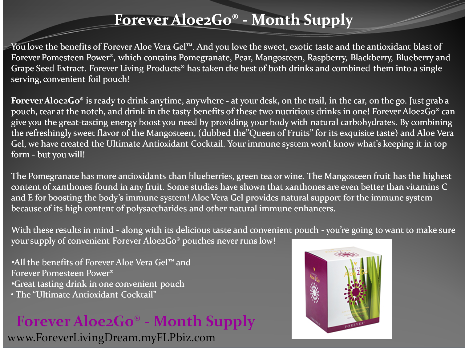 Forever living product business plan