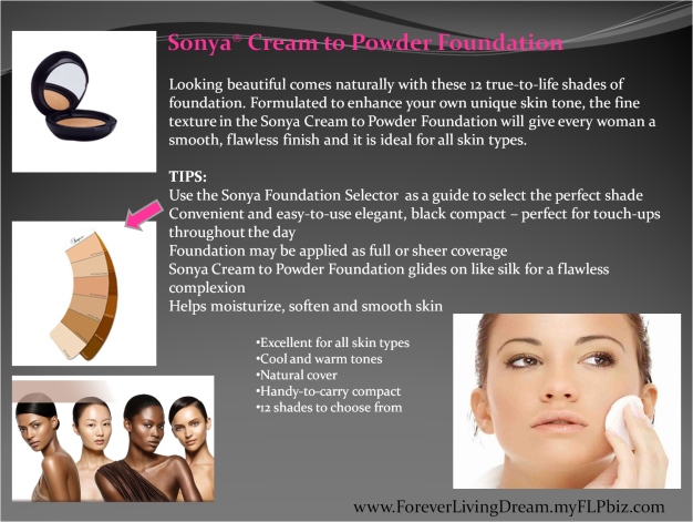 Sonya® Cream to Powder Foundation