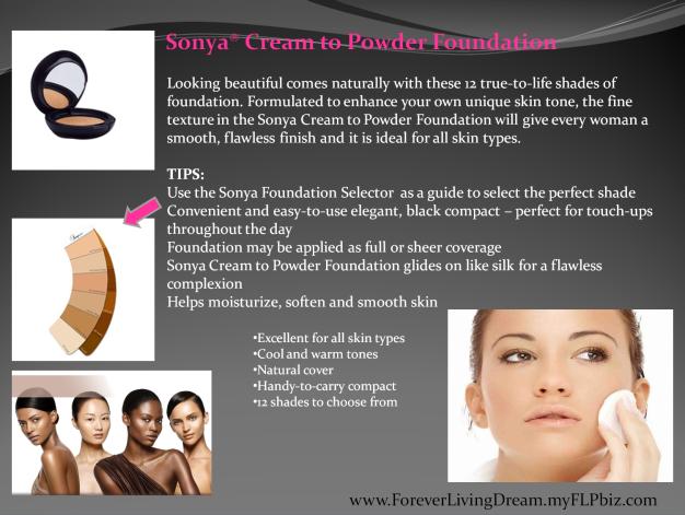 Sonya® Cream to Powder Foundation