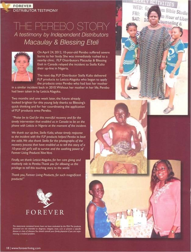 distributor testimony