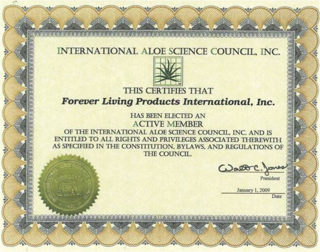 International Aloe Csience Council, INC
