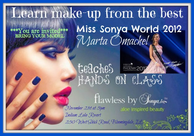 flawless by Sonya hands on class