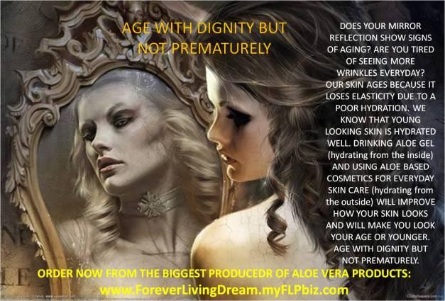 aging prematurely