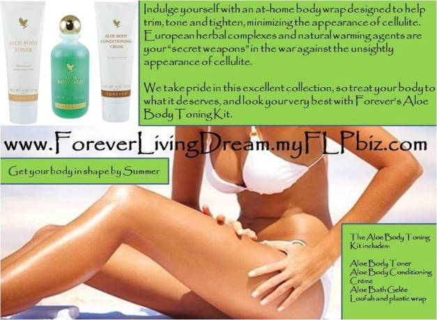aloe body tonning kit