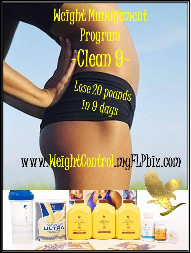 clean9 lose weight