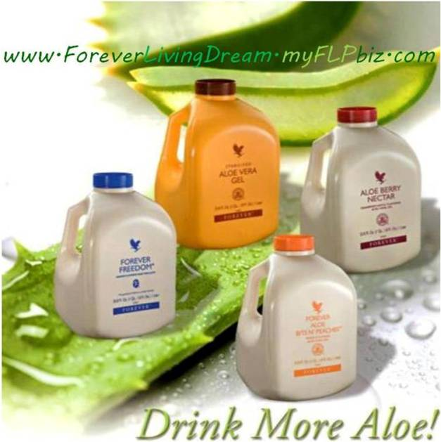 drink more aloe