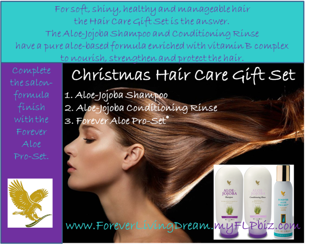 Christmas hair gift set