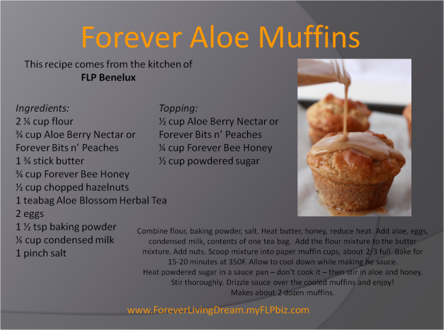 Forever Aloe Muffins