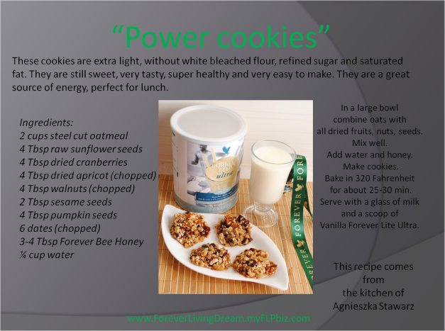 Power cookies