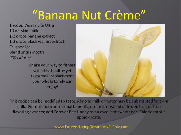 Banana Nut Creme