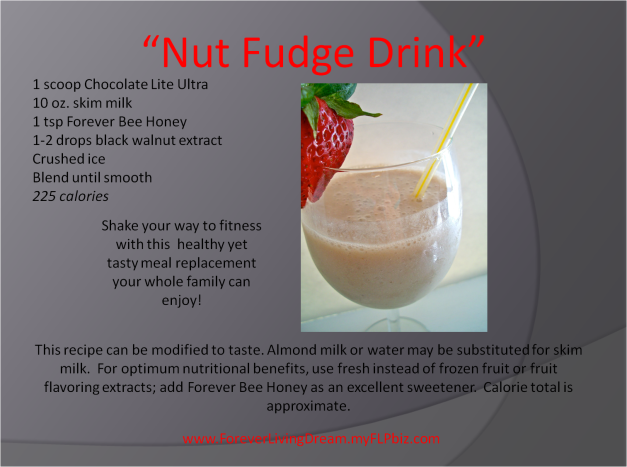 Nut Fudge Drink