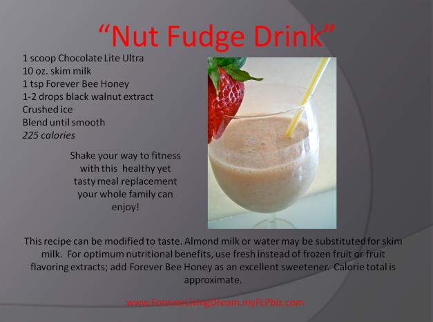 Nut Fudge Drink