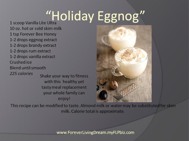 Holiday Eggnog