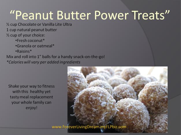 Penut Butter Power Treats