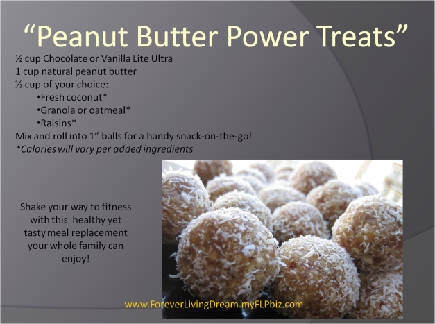 Penut Butter Power Treats