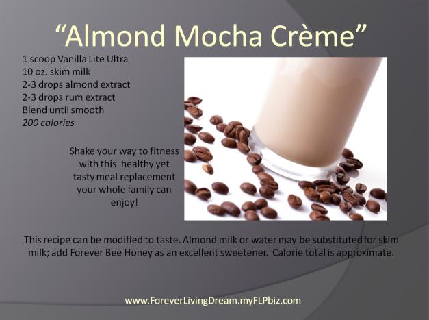 Almond Mocha Creme