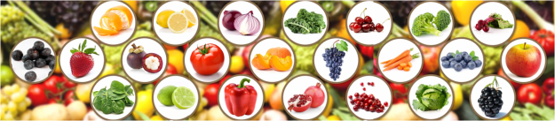 Forever Daily includes 20 different fruits and vegetables
