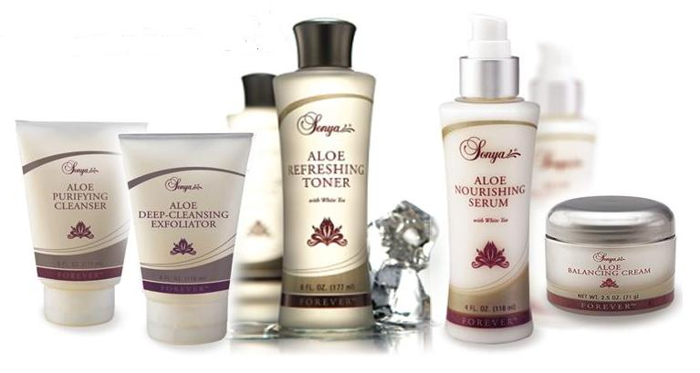Forever living facial products