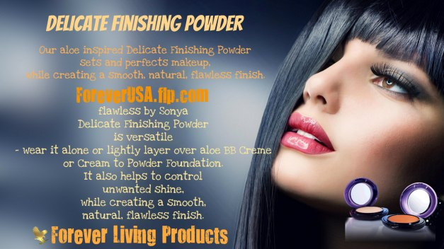 Delicate Finishing Powder