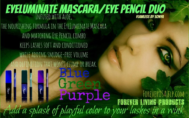 EyeLuminate Mascara Eye Pencil Duo