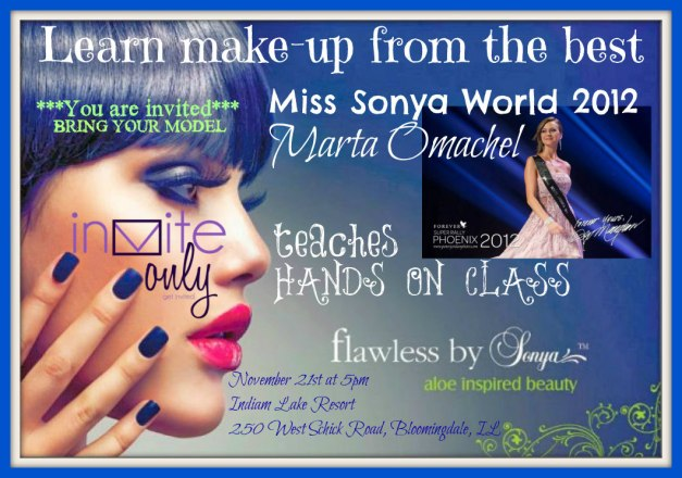 flawless by Sonya hands on class invite only